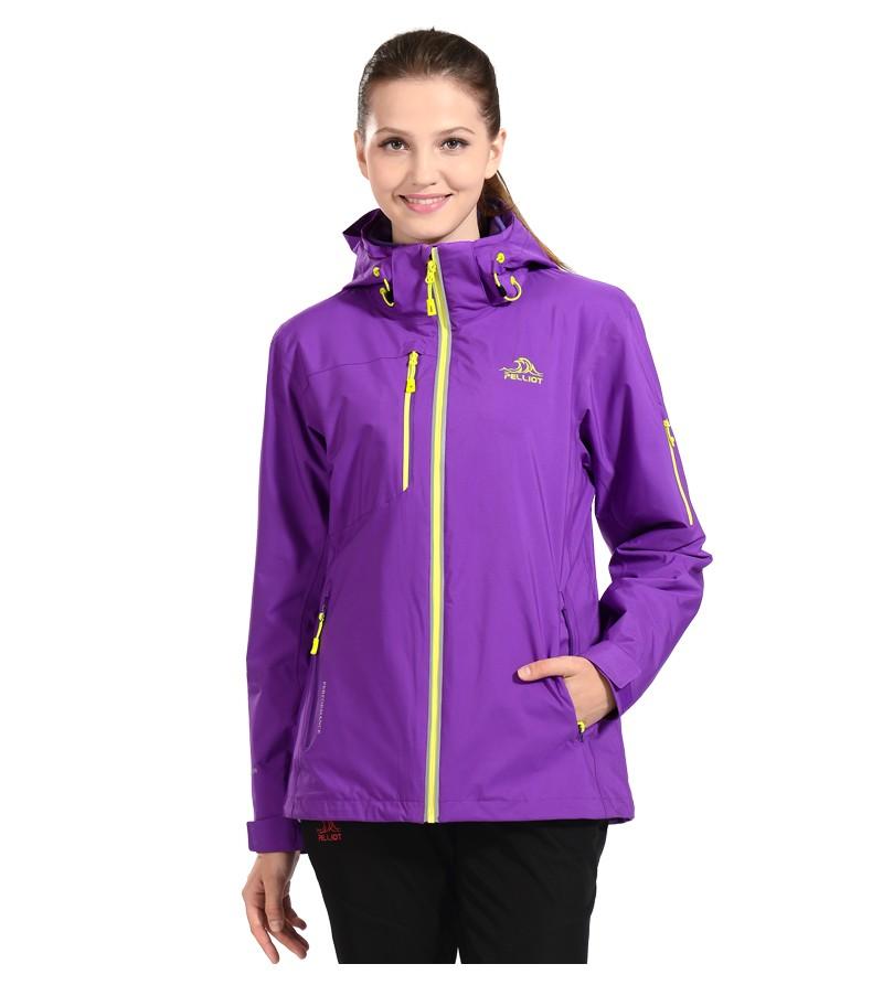 73bc9373 Осенняя и зимняя теплая женская куртка PELLIOT 3 в 1
